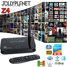 Z4 OCTA CORE BOX ANDROID 5.1 16GB 2GB 64BIT DUAL WIFI RK3368 SMART TV 4K KODI