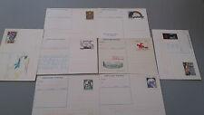 ITALIA lotto 8 Cartoline Postali Nuove anni 80 tutte diverse
