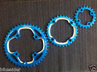 PERFORMANCE AEROZINE CHAINRING SET CNC AL7075 4 Arm 44 / 32 / 22 T 104/64 BCD