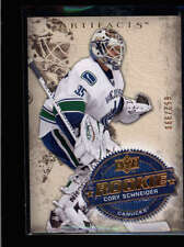 CORY SCHNEIDER 2008/09 08/09 UD ARTIFACTS #272 ROOKIE RC #652/999 AB8777