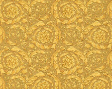 Versace Home Wallpaper 935833 Tapete gold Ornament Metallic Satin Barock Vlies