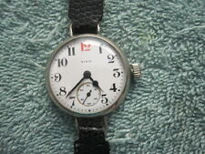 Elgin Military Trench Wrist Watch World War I- 1916 Superb Condition- NO RESERVE