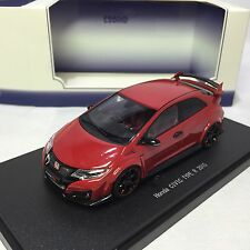 1/43 Ebbro Honda CIVIC TYPE R 2015 FK2 Milano Red 45354