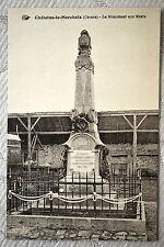 """CPA """" Châlus-le-Marcheix - Le Monument aux Morts"""