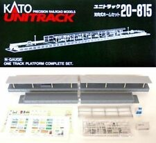 NEW KATO UNITRACK 20-815 ONE SIDED STATION SET
