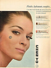 PUBLICITE ADVERTISING  1967   CHEN YU  cosmétiques