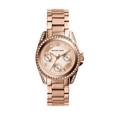 Michael Kors MK5613 Ladies Mini Blair Rose Multi-function Watch RRP £ 229.00