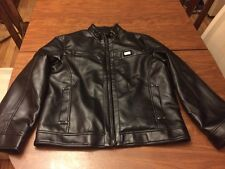 Men's EMPORIO ITALY WORLDWIDE Black Butter Soft Leather Jacket - Size S/M