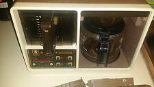 Vintage General Electric Space Maker Coffee Maker GE Automatic Drip Machine