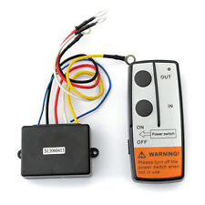12V 50ft Wireless Winch Remote Control Kit Switch Handset For Jeep ATV SUV UTV