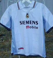 Real Madrid Soccer Siemens Mobile Shirt S/M 2002-2005 Autentica Producto Oficial