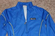 sMs Santini Italy Long Sleeve Blue Men Bike / Cycling Jersey 40 XS