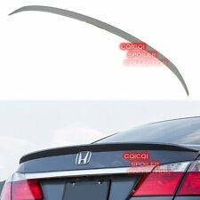 Painted Honda 13-16 ACCORD Sedan OEM type rear trunk spoiler all color ◎