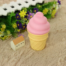 Silicone Pink Ice Cream Night Light Model Toys Children Bedroom Decor Gift Lamp