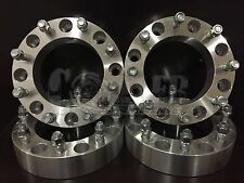 """4 X 2 inch Thick Skid Steer Wheel Spacers 8x8 5/8"""" Studs /Lug Nuts  for CAT 2"""""""