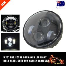 "5.75"" Projector Daymaker Hi-Lo LED Light Headlight for Harley Dyna Fat Bob FXDF"