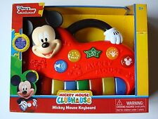 Disney Junior Mickey Mouse Clubhouse Keyboard NEW