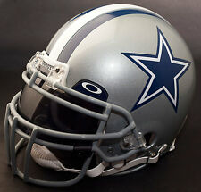 DALLAS COWBOYS NFL Gameday REPLICA Football Helmet w/ OAKLEY Eye Shield