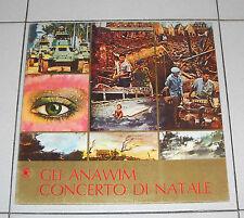 """Lp GLI ANAWIM Concerto di Natale Ammira e ringrazia - Xian prog 33 giri 12"""" Gesù"""