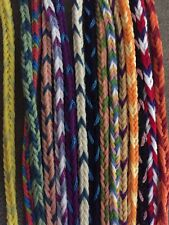 LOT OF HANDMADE FRIENDSHIP BRACELETS