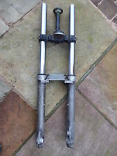 BMW F650GS 2004-2007 FORKS & BOTTOM YOKE LEFT RIGHT FORK STANCHION F650 GS