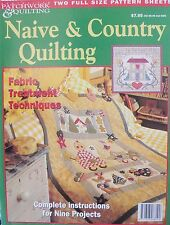 Australian Patchwork & Quilting Magazine - Native & Country Quilting