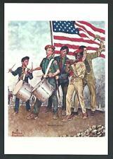 Boys Scouts of America - Disegno di Norman Rockwell - cartolina cm 10,5 x 15 - 2