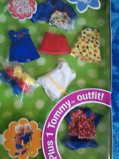 Barbie Baby KELLY TOMMY FASHION Red Blue Sailboat TOP DRESS SHORTS CLOTHES SHOES