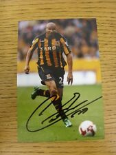 circa 2000s Autographed Glossy Photograph: Hull City - Cousin, Daniel.  When lis