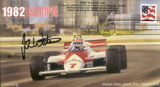 1982sb McLAREN COSWORTH MP4B DETROIT F1 Cover signed JOHN WATSON
