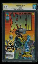 Asthonishing X-Men #4 CGC 9.6 SS Stan Lee Signed Age of Apocalypse Joe Mad