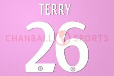 Terry #26 2013-2015 Chelsea UEFA Champions League Homekit Nameset Printing