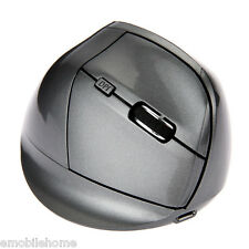 4 Version Ergonomic 2.4GHz Vertical Mouse with Comfort Wrist Pain Wireless Mouse