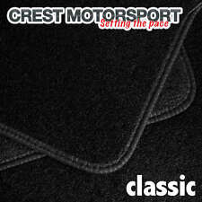 BMW E46 (3-SERIES) Compact 01 on CLASSIC Tailored Black Car Floor Mats