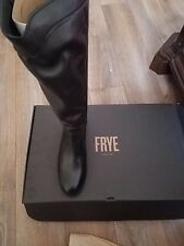 Frye boots black slip on calf leather Brand new in box