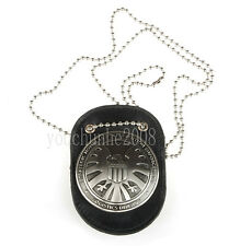 THE AVENGERS AGENTS OF SHIELD S.H.I.E.L.D. BADGE WITH LEATHER BADGE HOLDER-34317