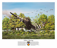 SILENT DESTINY - LIMITED EDITION HORSA GLIDER D-DAY PRINT TROOP CARRIER CRASH