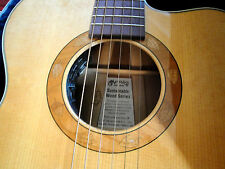 Martin OMC Sustainable Wood Red Birch LTD Production Acoustic Electric Guitar