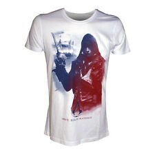 Assassin's Creed Unity White Arno In French Flag T-Shirt Unisex Taille / Size M