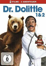Dr. Dolittle 1 & Dr. Dolittle 2 - Eddie Murphy DVD Box Film Familie DVD FOX