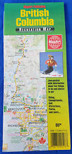 Mapart Publishing British Columbia Recreation Map Canada BC Campgrounds Golf ...