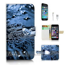 iPhone 7 (4.7') Flip Wallet Case Cover P2341 Motherboard