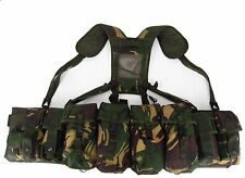 British Paratroop Airborne Webbing Harness in DPM by Dragon Supplies Size XL