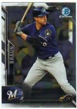 2016 Bowman Chrome Baseball #73 Ryan Braun Brewers