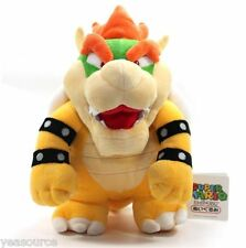 "New Super Mario Brothers Bros Party Bowser 10"" Plush Toy Doll Stuffed Animal"