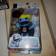 "Mezco Little Big Planet Sackboy, 4"" Action Figure, 2011 Con Exclusive, MOC"