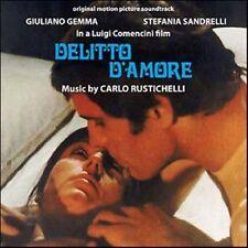 Carlo Rustichelli: Delitto d'Amore (New/Sealed CD)