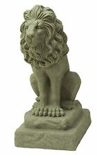 Emsco Group 2210 Poly Guardian Lion Statue Sand 28-Inch