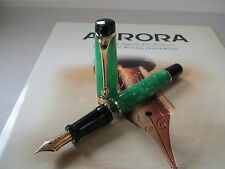 Aurora Primavera Limited Edition 18kt gold nib fountain pen MIB