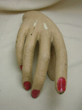 Halloween Prop Old Mannequin Hand Right Hand Scary Prop